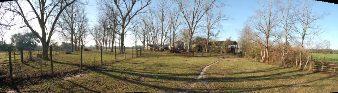 east barn yard and orchard