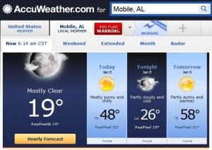 20130108 Mobile 19 degrees