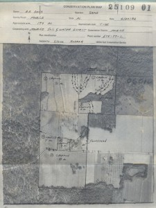 Pre 1982 aerial from Soil Conservation Plan