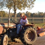 Piper Grandpa on MF Tractor